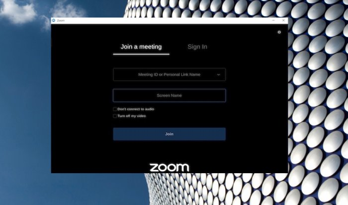 Join Meeting Zoom